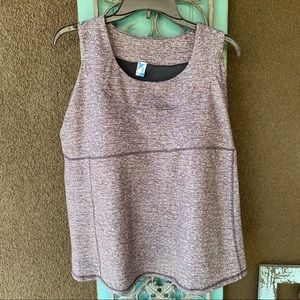 Old navy heathered gray 2X work out tank top